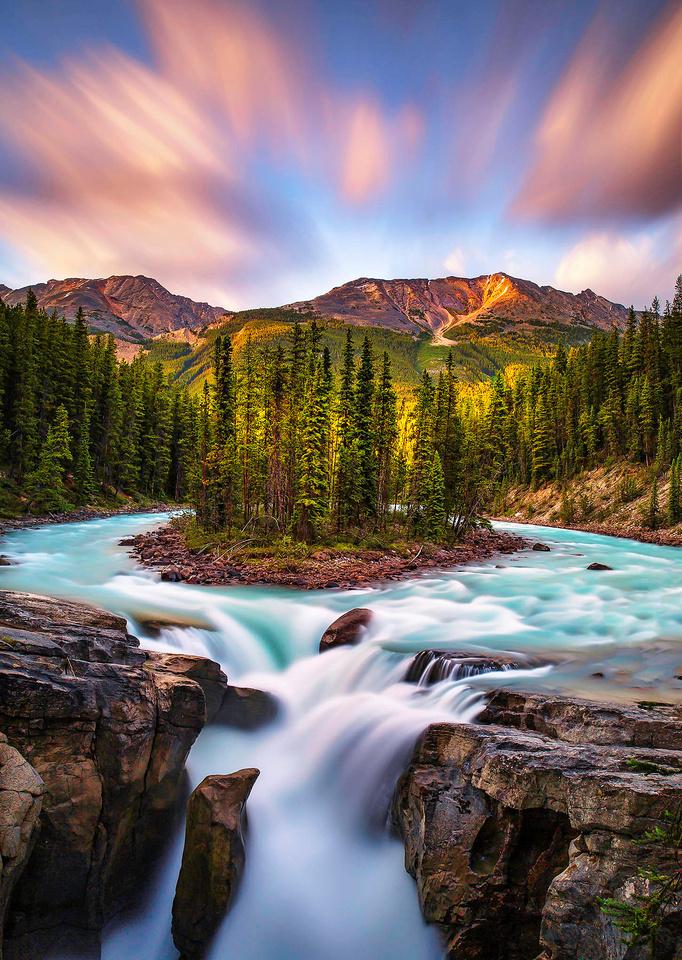 6 - Sunwapta Falls, Jasper